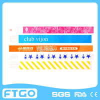 color changing tyvek wristband/bracelet/armband from manufacture/ OEM ODM