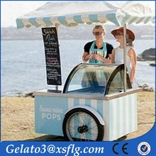 Street Fashion ,Customers favorite Electric Dining car/mobile ice cream cart