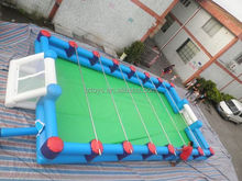 inflatable green football field , LZ-286 inflatable football pitch/inflatable