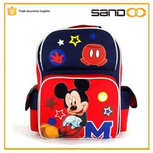 2015 China supplier Cute Minnie Mouse kids school bag, Mickey Mouse children school bag for kids