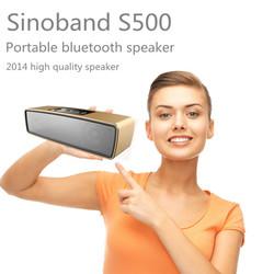 Sinoband 2015 S500 Preminium mini portable Bluetooth speaker