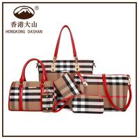 ABD- 3 HKDS 2015 handtasche leder handbag sets new model purses and ladies handbags