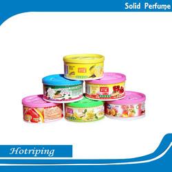 New Design Colorful Solid Gel Perfume Long Lasting Solid Air Freshener Organic Air Freshener