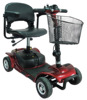 Lithium Battery Factory Cost Price detachable Light Weight Handicapped Scooter with PG Controller From UK
