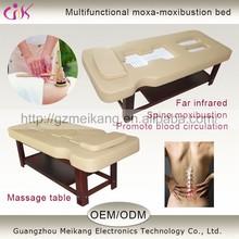 Salon Furniture adjustable folded electronic beauty massage bed MK-MB1