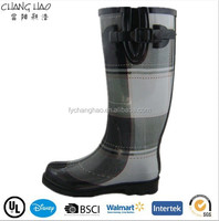 (CH.W086) Alibaba shoes Wellies with high heel women winter boots