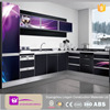 2015 modern free high gloss kitchen cabinets furniture design with high quality kitchen accessories