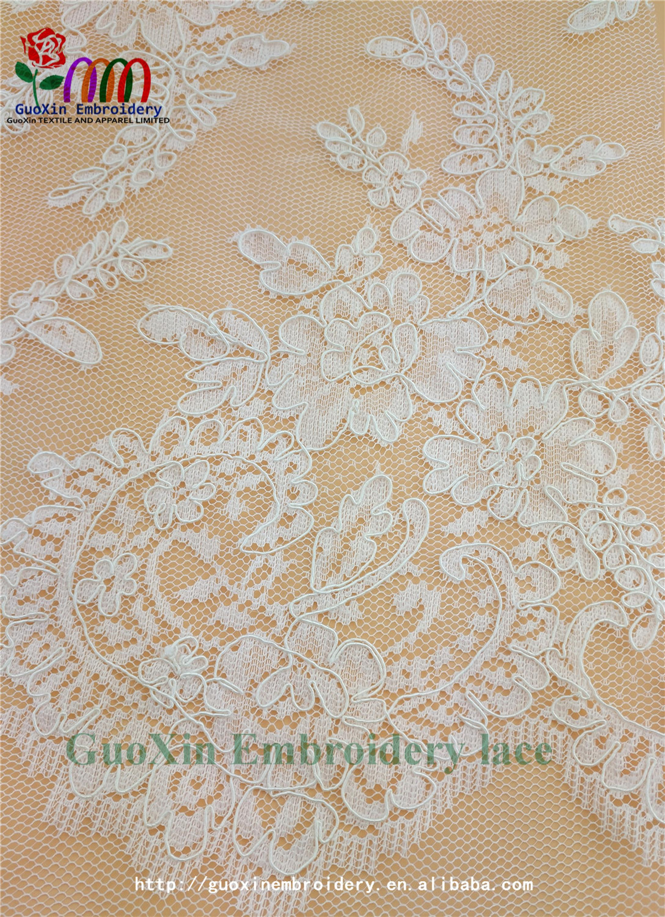high quality designer bridal sarees image lace embroidery lace fabric with cording (6).jpg