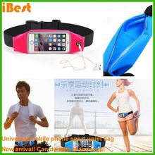 iBest Waist Bag Sport Gym Pocket Phone Arm Band Pouch Bag Case for Mobile Phones running waist bag