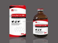 GMP products Oxytetracycline 20% LA injection alibaba china