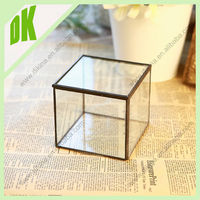 Stackable Living Eco Cubes // Modern Air Plant Glass Cubes, ||| cheap hand blown glass vases ^ tall black glass mosaic vases