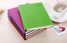 Custom printed yearly planner 2016 with pen