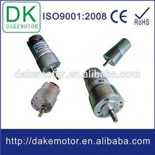 37mm 12V 24V DC spur gear calculation