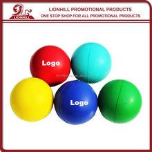 promotional custom pu basketball anti stress ball