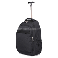2015 Best brand names with more function school travel Trolley backpack bag for easy trip