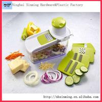 3 in 1 multi-function manual vegetable fruit cutter vegetable fruit cube cutter