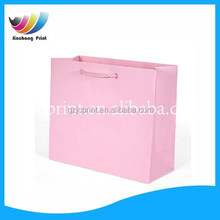 Stock Available shopping paper bag pink fashion