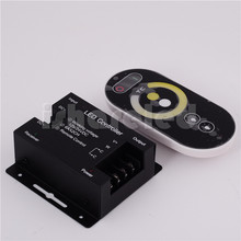 RF Wireless Touch RGB Led controller with remote 18MODES controlable distance DC12-24V