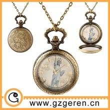 D01294o # venta al por mayor de calidad superior estatua de la libertad de cuarzo reloj de bolsillo, reloj de bolsillo barato compras en línea