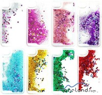 Bling Stars Liquid Novelty Colourful Moving Glitter Case for iPhone 6 6plus 5s