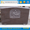 red granite monument granite indian red tombstone for cemetry
