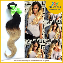 two tone synthetic ombre marley hair braid crochet braids with human hair brazilian wavy hair extensions