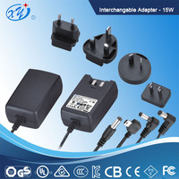 Wall-mount AC/DC adapter/power supply EU plug UL/CE/GS APPROVAL