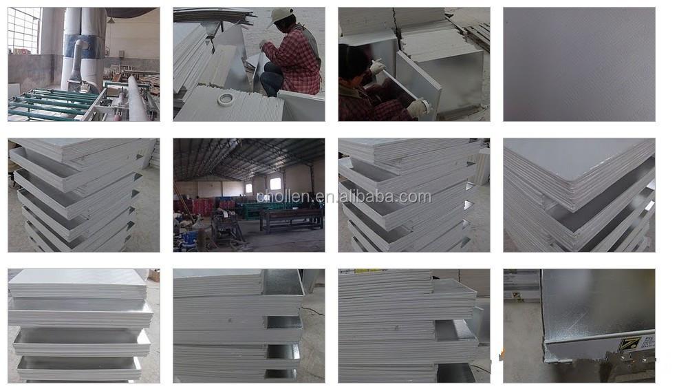 Sound Absorbing Gypsum Board : Sound absorption pvc gypsum board ceiling laminated