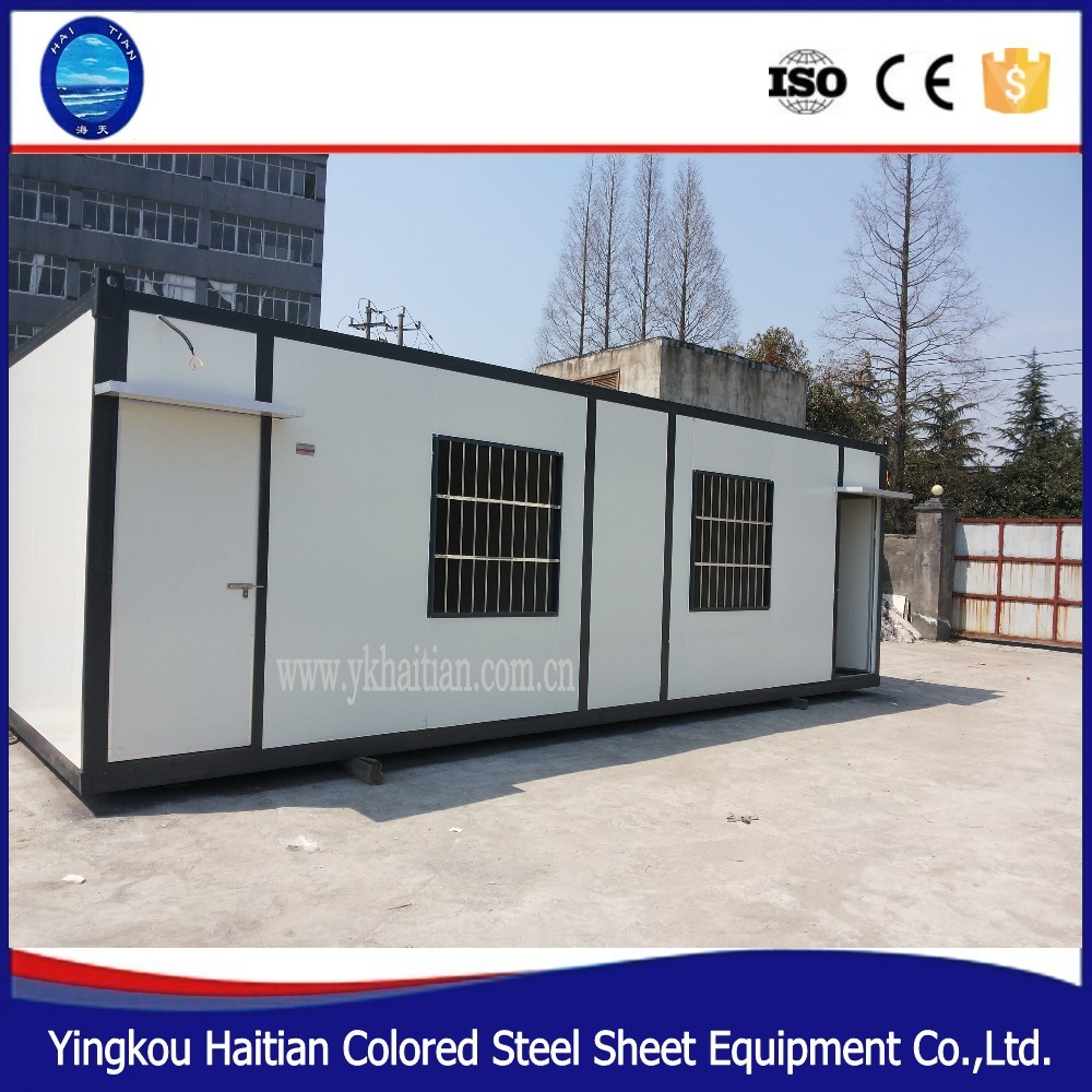 Low cost container office portable container office for Maison low cost container