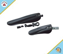 XH-B101 colorful bike fender quick release mountain bicycle mudguard in black color