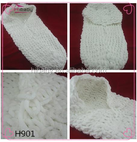 h901 de lana hechos a mano bolsas de dormir del bebé para mantener ...