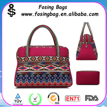 Wholesale Very Low Price Fashion Bag Women's Western Style Canvas Handbags