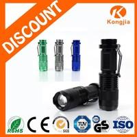 3W XPE Led Bulb Portable Zoom Ultra Bright Aluminium Alloy RechargeableLed Flashlight Torch Brinyte Flashlights