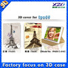 "2015 wholesale 3D fashionable design case Cover for Ipad 5 with best 3d depth effect,7"" tablet case"