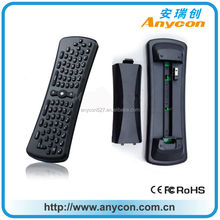RF smart remote control for PC/smart TV/IPTV with qwerty keyboard.