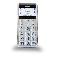 low cost hearing aid SOS mobile cell phone for old aged people