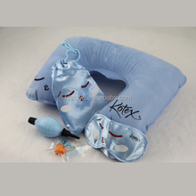 Exquisite printed inflatable neck cushion