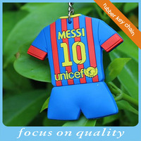high quality customized soft pvc keychains basketball World cup promotion