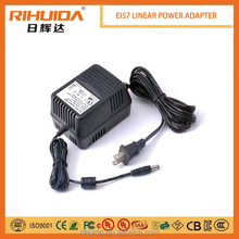 220v ac to 9v dc adaptor korea two pin plug linear power adapter for Led Strip AC to DC Transformer