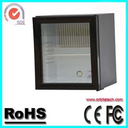 Glass door noiseless absorption refrigerator