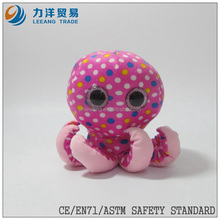 Plush octopus for kids, sea animals, Customised toys,CE/ASTM safety stardard