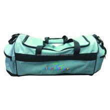 Cheap Blue Polyester Sport Foldable Duffle Bag 2015