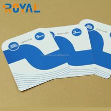 Hard back board card/blister backing cards