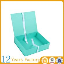 Free coupon $1000 custom paper clothes packaging gift box