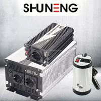 SHUNENG off grid pure sine wave solar converter 3000w