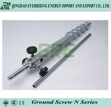 Building Foundation Screw Piles ground screw For Pv Panel Solar Mounting