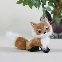 New new coming soft fox hand puppet