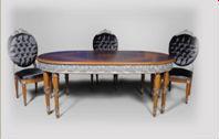 Best Handmade Antique Classic Wood Dining Room Set