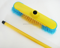 HQ0158 can be customized for Franch market yellow color Italian screw PP broom