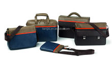 Briefcase with sholder,file bag PU leather,document case for men